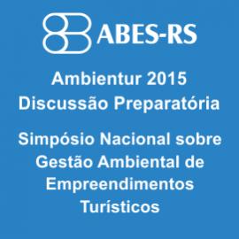 AMBIENTUR 2015 - DISCUSSÃO PREPARATÓRIA 27/10