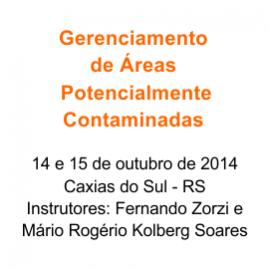GERENCIAMENTO DE ÁREAS  POTENCIALMENTE CONTAMINADAS