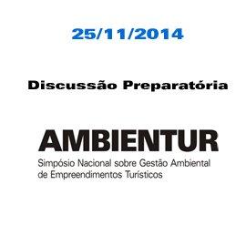 AMBIENTUR 2015 - DISCUSSÃO PREPARATÓRIA - 25/11