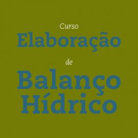 ELABORAÇÃO DE BALANÇO HÍDRICO